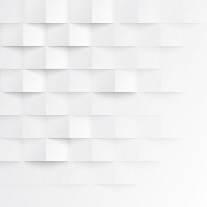 Abstract 3d White Geometric Background. White Seamless Texture W